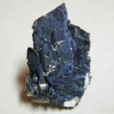 Azurite<br />Tsumeb Mine, Tsumeb, Otjikoto Region, Namibia<br />40x60x25mm<br /> (Author: Heimo Hellwig)