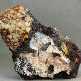 Cerusita<br />Minas de Tharsis, Tharsis, Alosno, Comarca El Andévalo, Huelva, Andalucía, España<br />74x51x29 mm<br /> (Autor: Juan Espino)
