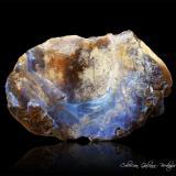 Ópalo (variedad boulder opal)<br />Área de ópalos de Yowah, Condado Paroo, Queensland, Australia<br />108 x 64 x 59 mm.<br /> (Autor: Rafael Galiana)