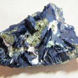 Azurite<br />Tsumeb Mine, Tsumeb, Otjikoto Region, Namibia<br />70x45x25mm<br /> (Author: Heimo Hellwig)
