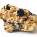 Azurite on dolomite<br />Schmitt dolomite Quarry, Altenmittlau, Freigericht, Main-Kinzig-Kreis District, Spessart, Hesse/Hessen, Germany<br />Specimen size 3,5 cm, azurite <br /> (Author: Tobi)