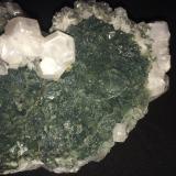Fluorite, Calcite, Pyrite<br />El Hamman, Meknès, Meknès Prefecture, Drâa-Tafilalet Region, Morocco<br />125 X 150 X 105 is shown<br /> (Author: Robert Seitz)