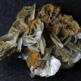 Barita con calcita<br />Mines Can Palomeres, Malgrat de Mar, Comarca Maresme, Barcelona, Catalunya, España<br />6 x 5 x 3 cm<br /> (Autor: karbu8)
