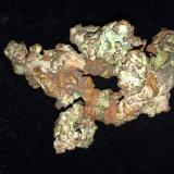 Copper<br />Keweenaw Copper District, Ontonagon County, Michigan, USA<br />125 X 80 X 80 mm<br /> (Author: Robert Seitz)