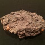 Vanadinite (variety endlichite overgrowth), WulfeniteSierra de Los Lamentos, Municipio Ahumada, Chihuahua, México195 X 145 X 85 mm (Author: Robert Seitz)