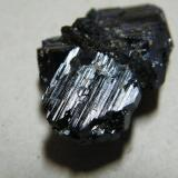 Azurite<br />Tsumeb Mine, Tsumeb, Otjikoto Region, Namibia<br />40x25x10mm<br /> (Author: Heimo Hellwig)