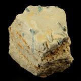 Beryl (variety emerald)<br />Muzo mining district, Western Emerald Belt, Boyacá Department, Colombia<br />60x42x48mm, longest xl=17mm<br /> (Author: Fiebre Verde)