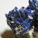 Azurite<br />Tsumeb Mine, Tsumeb, Otjikoto Region, Namibia<br />35x35x30mm<br /> (Author: Heimo Hellwig)