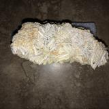 Cerussite<br />Flux Mine, Flux Gulch, Alum Gulch, Patagonia Mountains, Harshaw District, Santa Cruz County, Arizona, USA<br />95 X 50 X 40<br /> (Author: Robert Seitz)