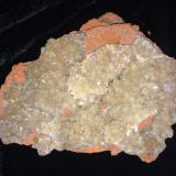 Adamite<br />Ojuela Mine, Mapimí, Municipio Mapimí, Durango, Mexico<br />135 X 115 X 25 mm<br /> (Author: Robert Seitz)
