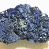 Azurite<br />Tsumeb Mine, Tsumeb, Otjikoto Region, Namibia<br />70x40x30mm<br /> (Author: Heimo Hellwig)