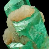 Beryl (variety emerald)<br />Coscuez mining district, Municipio San Pablo de Borbur, Western Emerald Belt, Boyacá Department, Colombia<br />21x30x15mm<br /> (Author: Fiebre Verde)
