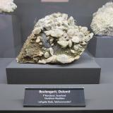 Boulangerite, DolomiteRamsbeck, Meschede, Sauerland, Renania del Norte-Westfalia/Nordrhein-Westfalen, Alemania~ 13 cm (Author: Tobi)
