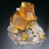 Fluorite<br />Frohnau, Annaberg-Buchholz, Annaberg District, Erzgebirge, Saxony/Sachsen, Germany<br />6x4x3 cm<br /> (Author: Jesse Fisher)