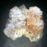 Fluorite<br />Gillheads Mine, Skyreholme, Pateley Bridge District, North Pennines Orefield, Yorkshire, England, United Kingdom<br />8x7x3 cm overall size<br /> (Author: Jesse Fisher)