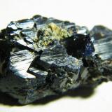 Azurite<br />Tsumeb Mine, Tsumeb, Otjikoto Region, Namibia<br />30x15x15mm<br /> (Author: Heimo Hellwig)