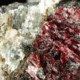 Rastsvetaevite, Fenaksite, Delhayelite, Lamprophyllite. Aegirine<br />Khibiny Massif, Kola Peninsula, Murmanskaja Oblast', Northern Region, Russia<br />72x47x47mm<br /> (Author: Fiebre Verde)
