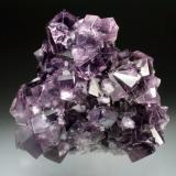 Fluorite<br />Weardale, North Pennines Orefield, County Durham, England, United Kingdom<br />11x10x6 cm overall size<br /> (Author: Jesse Fisher)