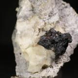 Bournonita y Esfalerita<br />Mina Grande, Escaro, Riaño, Comarca Montaña de Riaño, León, Castilla y León, España<br />8,5x6 cm<br /> (Autor: minero1968)
