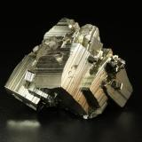 Pyrite<br />Huanzala Mine, Huallanca District, Dos de Mayo Province, Huánuco Department, Peru<br />62x45x42mm<br /> (Author: Fiebre Verde)
