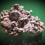 Sphalerite, Galena, Quartz (var Amethyst)<br />Commodore Mine, Creede District, Mineral County, Colorado, USA<br />15x10 cm<br /> (Author: chris)