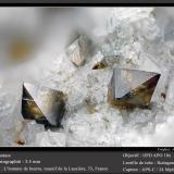 Anatase<br />L'Homme de Beurre, La Lauzière Massif, Saint-Jean-de-Maurienne, Savoie, Auvergne-Rhône-Alpes, France<br />fov 3.6 mm<br /> (Author: ploum)