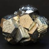 Pyrite<br />Huanzala Mine, Huallanca District, Dos de Mayo Province, Huánuco Department, Peru<br />80mm x 65mm x 60mm<br /> (Author: Philippe Durand)