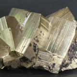 Pyrite<br />Huanzala Mine, Huallanca District, Dos de Mayo Province, Huánuco Department, Peru<br />100mm X 65mm x 50mm<br /> (Author: Philippe Durand)