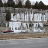 _crystallized H2O.....ice<br />Harrodsburg area, Clear Creek Township, Monroe County, Indiana, USA<br />icicles up to 15 feet<br /> (Author: Bob Harman)