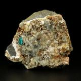 Beryl (variety emerald), Albite (variety cleavelandite), Dolomite, Pyrite<br />Chivor mining district, El Acuario Mine, Municipio Chivor, Eastern Emerald Belt, Boyacá Department, Colombia<br />50x56x36mm, xl=5mm<br /> (Author: Fiebre Verde)