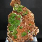Pyromorphite<br />Saint-Salvy Mine, Saint-Salvy-de-la-Balme, Tarn, Occitanie, France<br />60mm x 40mm x 40mm<br /> (Author: Philippe Durand)