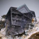 Fluorite<br />Boltsburn Mine, Rookhope District, Weardale, North Pennines Orefield, County Durham, England, United Kingdom<br />1.5 cm<br /> (Author: Jesse Fisher)