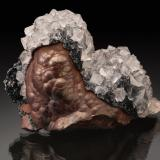 Hematite with Quartz<br />Egremont, West Cumberland Iron Field, former Cumberland, Cumbria, United Kingdom England<br />74 mm<br /> (Author: Gail)