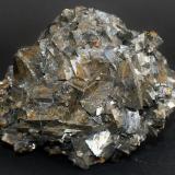 Tetrahedrite<br />Pachapaqui mining district, Pachapaqui, Aquia District, Bolognesi Province, Ancash Department, Peru<br />70mm x 55mm x 24mm<br /> (Author: Philippe Durand)