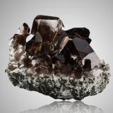 Quartz (variety gwindel)Zweite Motta, Glaciar Giuv (Giuv Gletscher), Val Giuv, Tujetsch (Tavetsch), Valle Vorderrhein, Grisones (Grischun; Graubünden), Suiza13,5x10,0x8,0cm (Author: MIM Museum)
