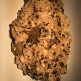 Dolomite, Chalcopyrite<br />Picher Field, Tri-State District, Ottawa County, Oklahoma, USA<br />150 X 90 X 35 mm<br /> (Author: Robert Seitz)
