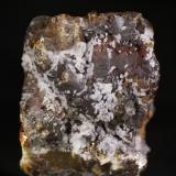 Esfalerita<br />Mina Las Mánforas, Zona Minera Áliva, Camaleño, Comarca Liébana, Cantabria, España<br />5,5x7,5 cm<br /> (Autor: minero1968)