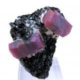 Corundum, biotite Zazafotsy Quarry, Zazafotsy, Ihosy, Horombe, Fianarantsoa, Madagascar 60 mm x 50 mm (Author: Carles Millan)