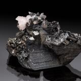 Polybasite<br />Rayas Mine, Guanajuato, Municipio Guanajuato, Mexico<br />24 mm<br /> (Author: Gail)