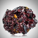 Getchellite with Orpiment and StibniteMina Getchell, Pico Adam, Distrito Potosi, Montes Osgood, Condado Humboldt, Nevada, USA10,0x9,0x6,0cm (Author: MIM Museum)