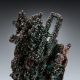 Cuprite<br />Copper Queen Mine, Queen Hill, Bisbee, Warren District, Mule Mountains, Cochise County, Arizona, USA<br />9 x 6 cm<br /> (Author: Gail)