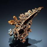 Copper<br />Onganja (Emke) Mine, Helen Farm 235, Onganja mining area, Seeis, Windhoek District, Khomas Region, Namibia<br />2.0 x 3.3 cm<br /> (Author: Michael Shaw)