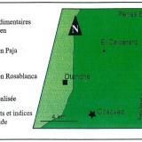 """El Calcetero"" is located halfway between the historic mining areas of Coscuez and Peñas Blancas (From Yannick  Branquet, 1999). (Author: Fiebre Verde)"