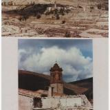 Taken in 1990.  The church and the village of Navajún (Author: James)