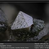 Anatase<br />Grand Pic de la Lauzière, La Lauzière Massif, Saint-Jean-de-Maurienne, Savoie, Auvergne-Rhône-Alpes, France<br />fov 3.0 mm<br /> (Author: ploum)