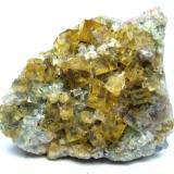 Fluorite<br />Vater Abraham Mine, Scheibenberg, Annaberg District, Erzgebirgskreis, Saxony/Sachsen, Germany<br />Specimen size 6 cm<br /> (Author: Tobi)
