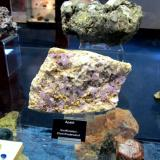 Fluorapatite<br />Greifensteine, Ehrenfriedersdorf, Erzgebirgskreis, Saxony/Sachsen, Germany<br />Specimen size 12-13 cm<br /> (Author: Tobi)