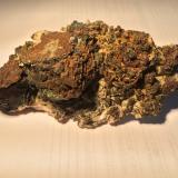 Galena, Chalcopyrite, Dolomite<br />Picher Field, Tri-State District, Ottawa County, Oklahoma, USA<br />100 mm X 55 mm X 40 mm<br /> (Author: Robert Seitz)