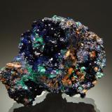 Azurite<br />Sepon Mine, Vilabouly District, Savannakhét Province, Laos (Lao P.D.R.)<br />6.1 x 7.2 cm<br /> (Author: crosstimber)