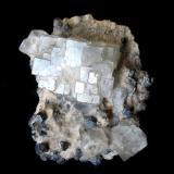 Fluorite, Galena<br />Naica Mine, Naica, Municipio Saucillo, Chihuahua, Mexico<br />Specimen height 7 cm<br /> (Author: Tobi)